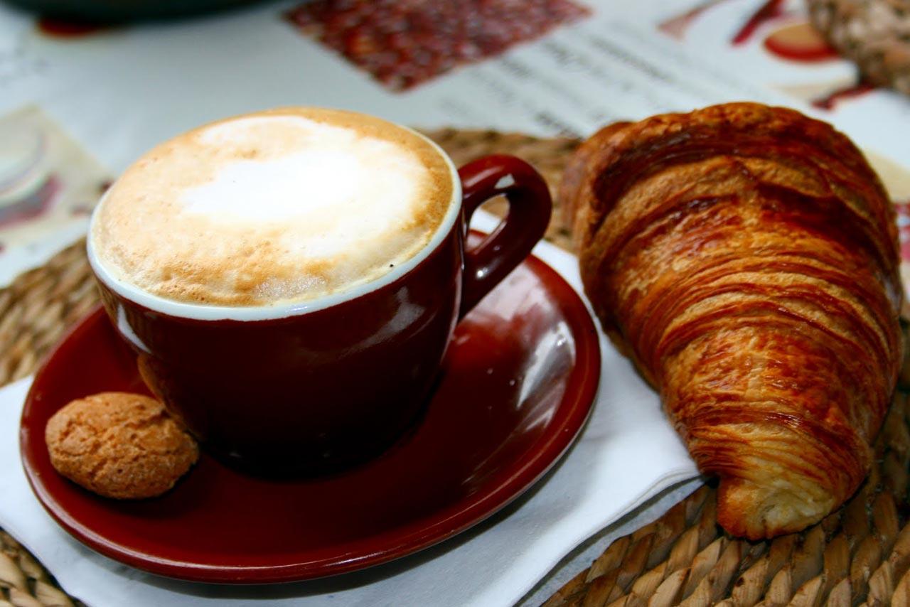 Frühstück Cappuccino Kaffee